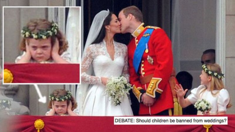 DEBATE: Should children be banned from weddings? What do you