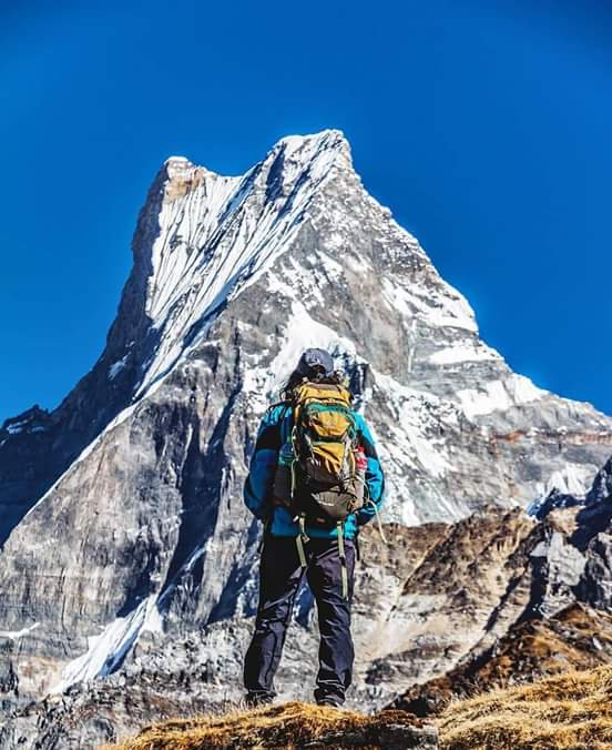 Beautiful Machhapuchhre as seen during Mardi Himal Trekking 😍 Photo: Abhimanyu Shrestha https://t.co/2bmEbCf5bK