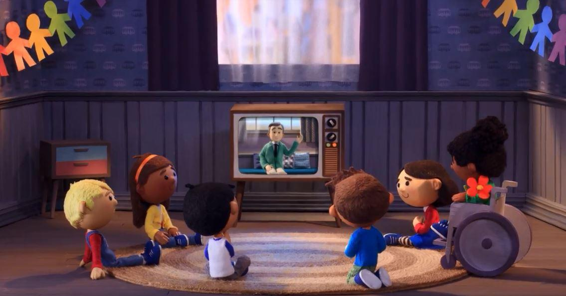 Friday's GoogleDoodle honored Mister Rogers with a video