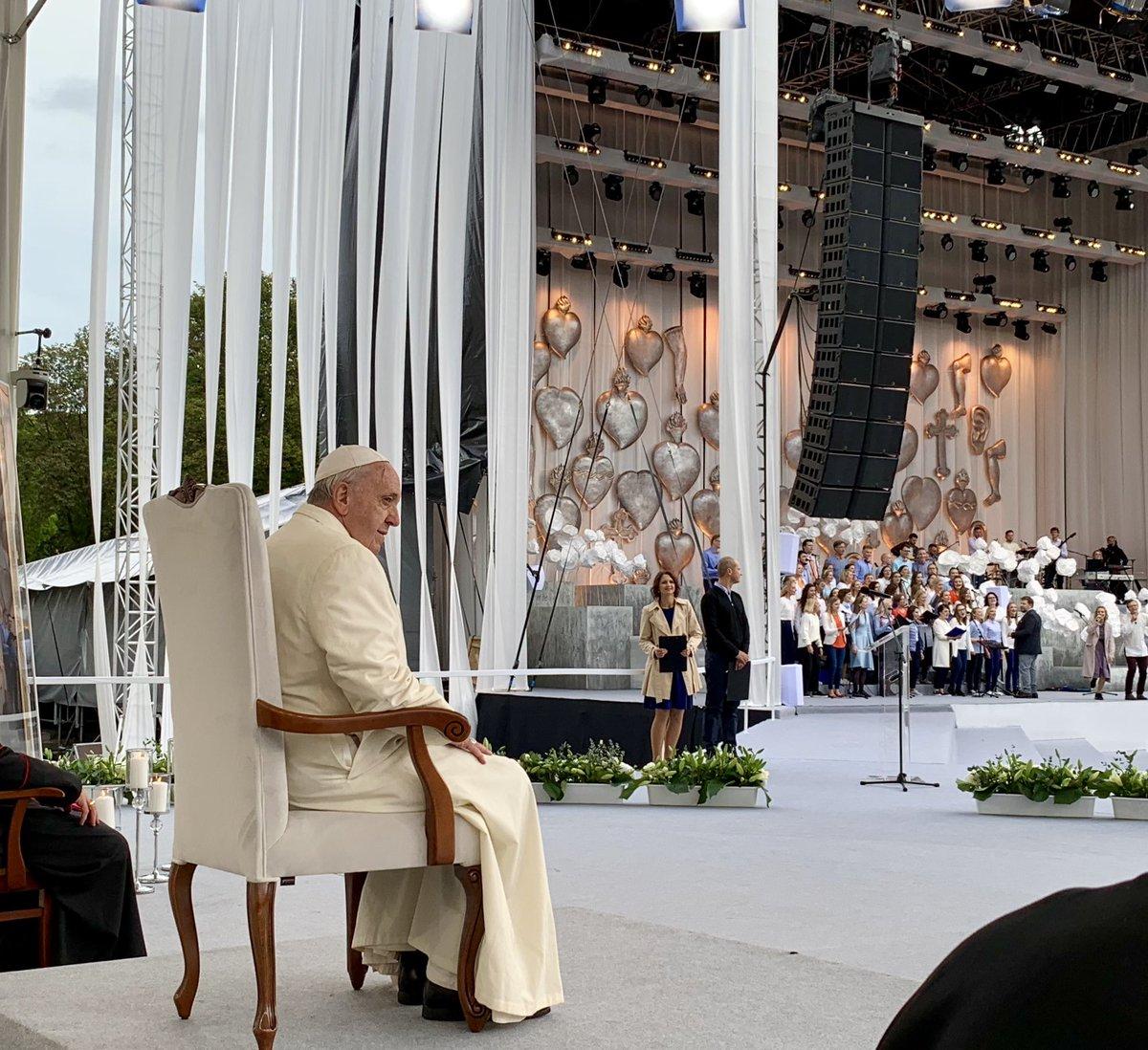 #PopeInLithuania