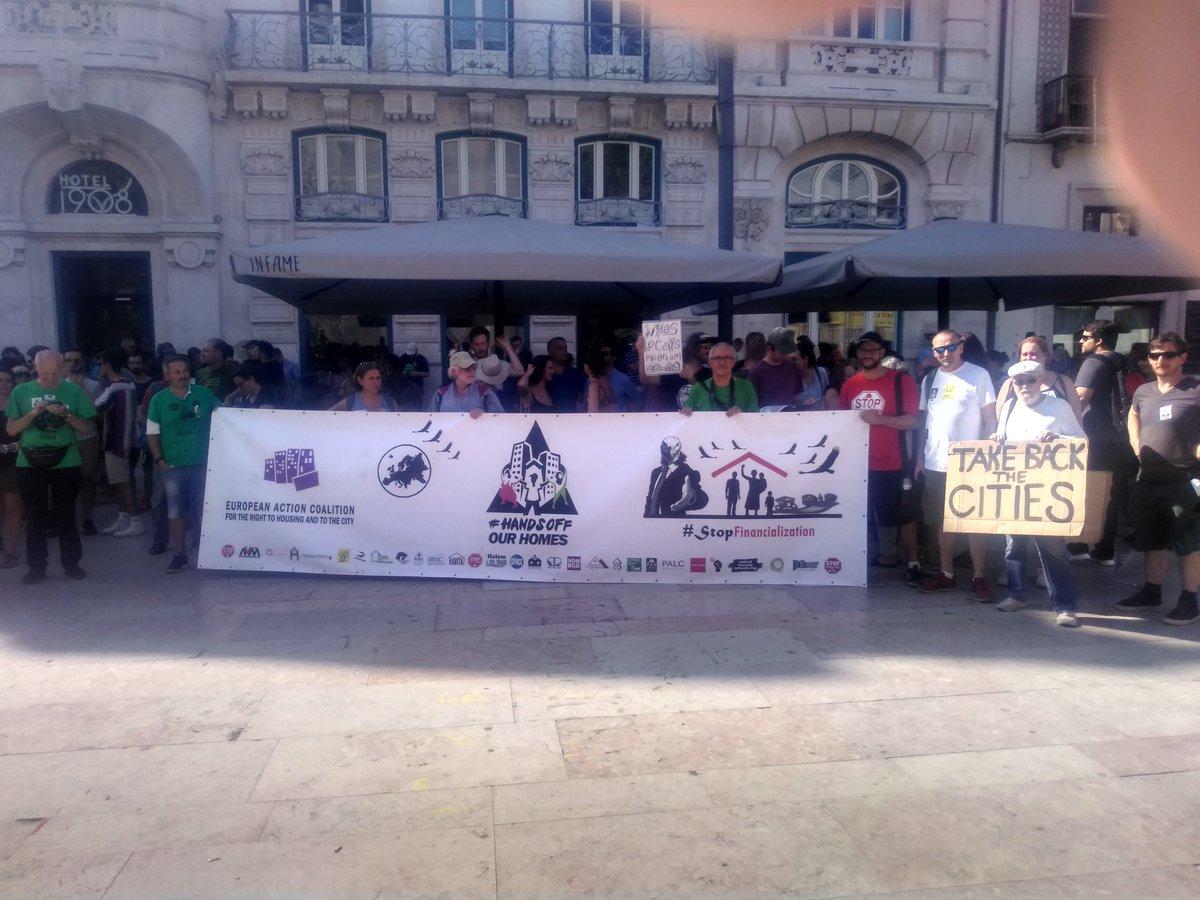 test Twitter Media - International block at housing ptotest now in #Lisbon https://t.co/79rbyyEluk