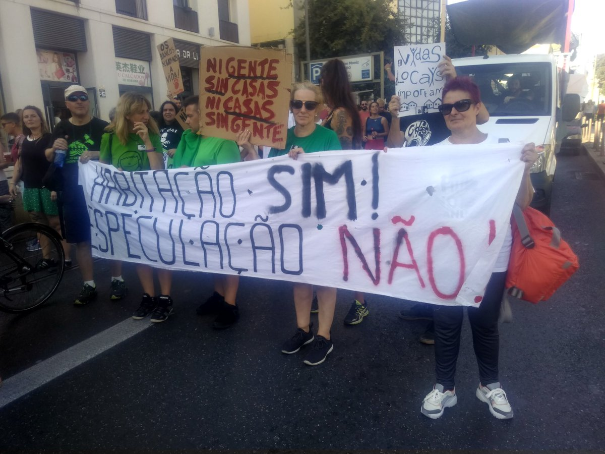 test Twitter Media - #housingYES #speculationNO Protest of many groups and organizations today in #Lisbon https://t.co/L4dKd7Nxpe
