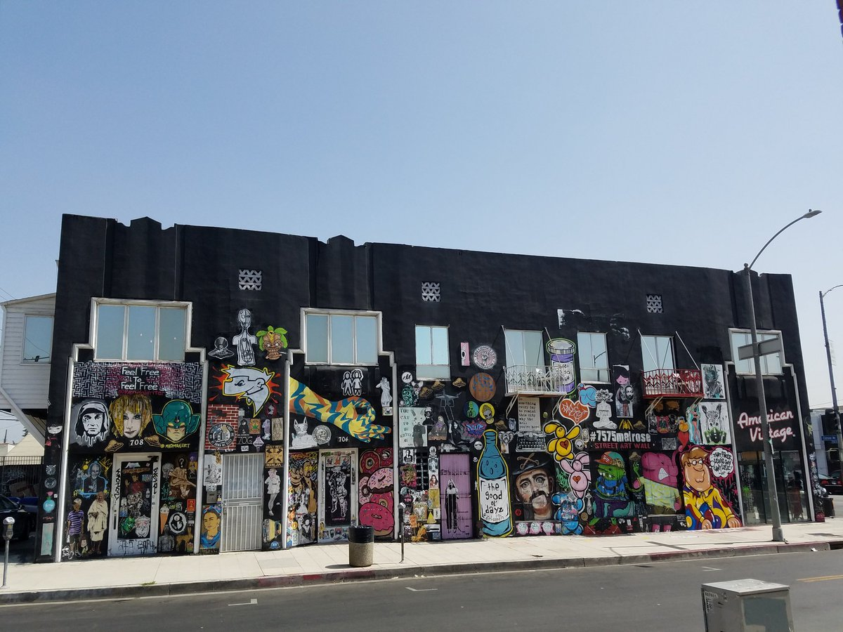 test Twitter Media - Ever come to #Hollywood please visit #7575melrose and checkout the the #streetart wall i curate 😎 RT https://t.co/e64B23r9fL