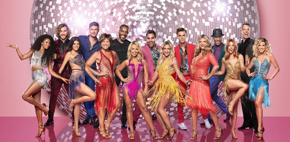 Wine opened? Pizza ordered? It's the Strictly Come Dancing first live show - LIVE