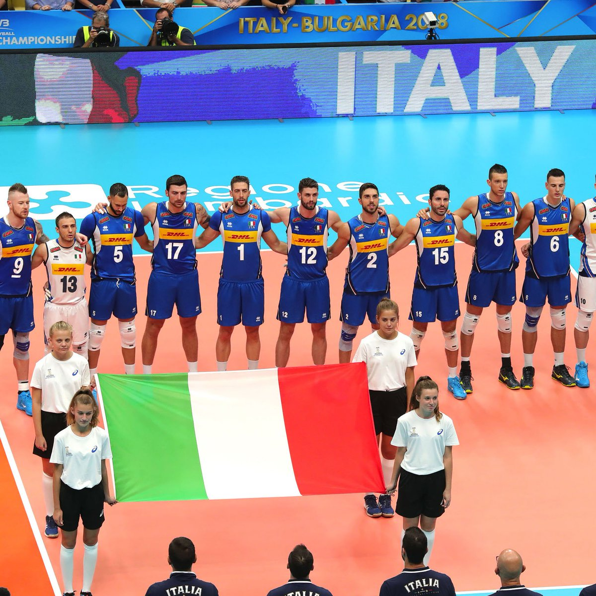#MondialiVolley2018