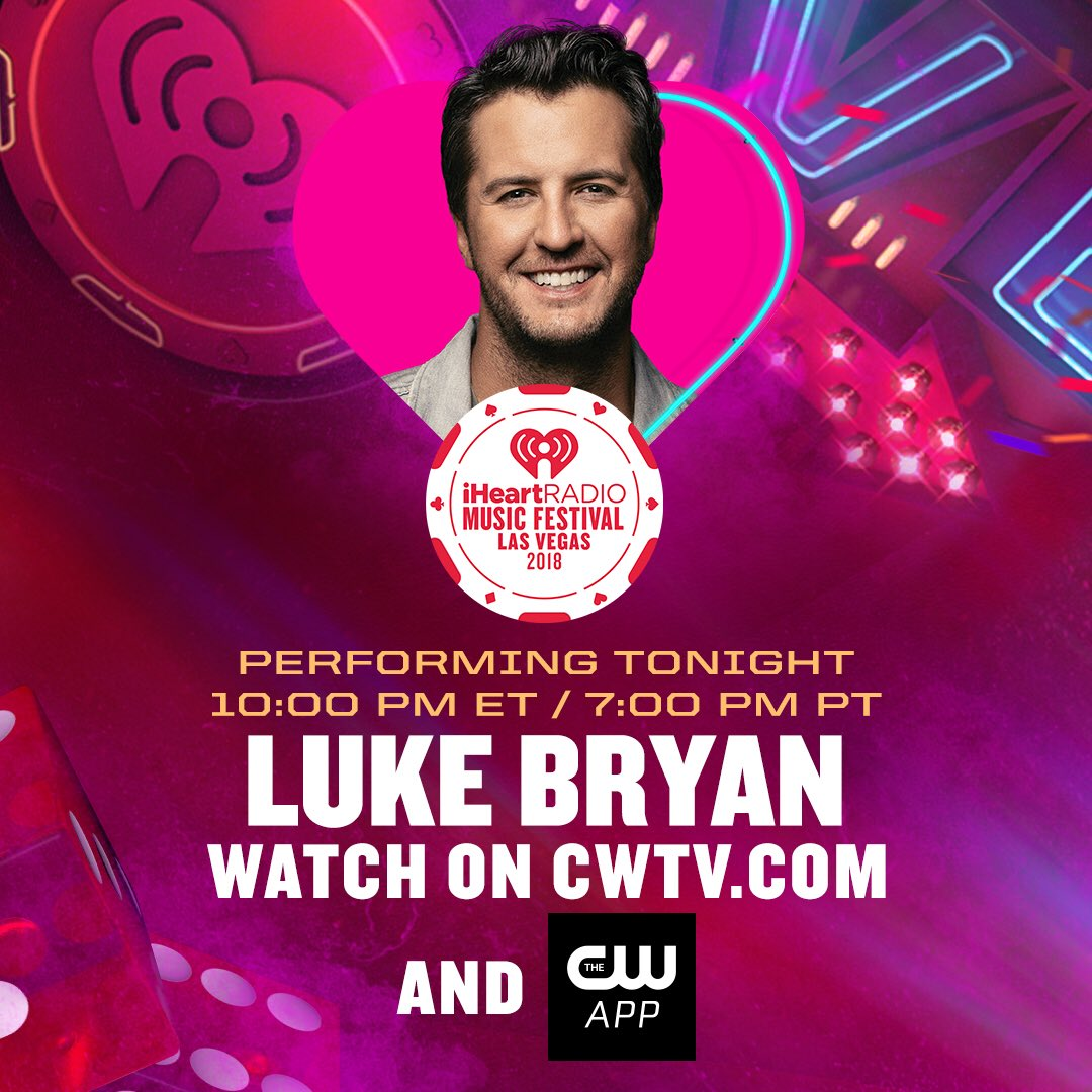 RT @LukeBryanOnline: Tune in NOW to catch my performance at the #iHeartFestival https://t.co/pmWyC7nMnM https://t.co/8X86n9AAox