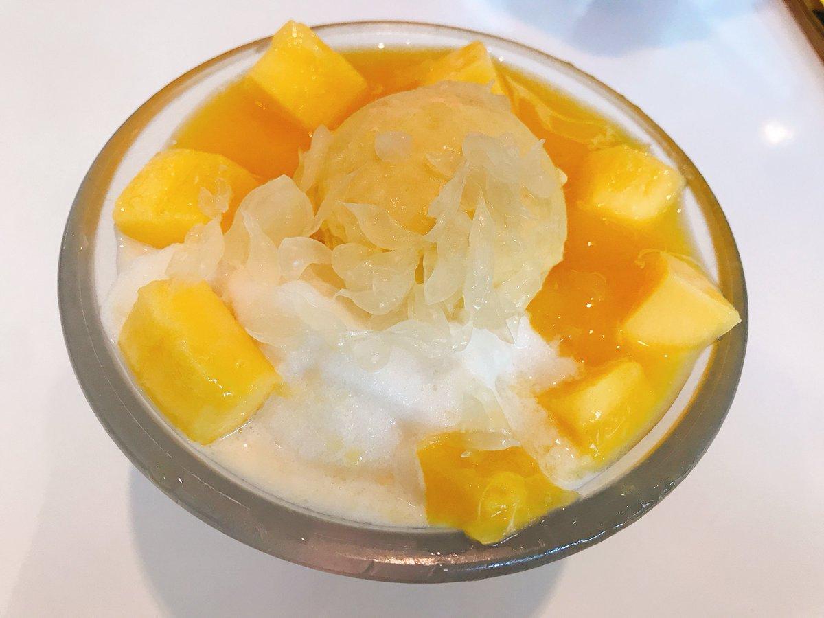 Mango with ice-cream & sago 😘 https://t.co/muuvCUOWqw