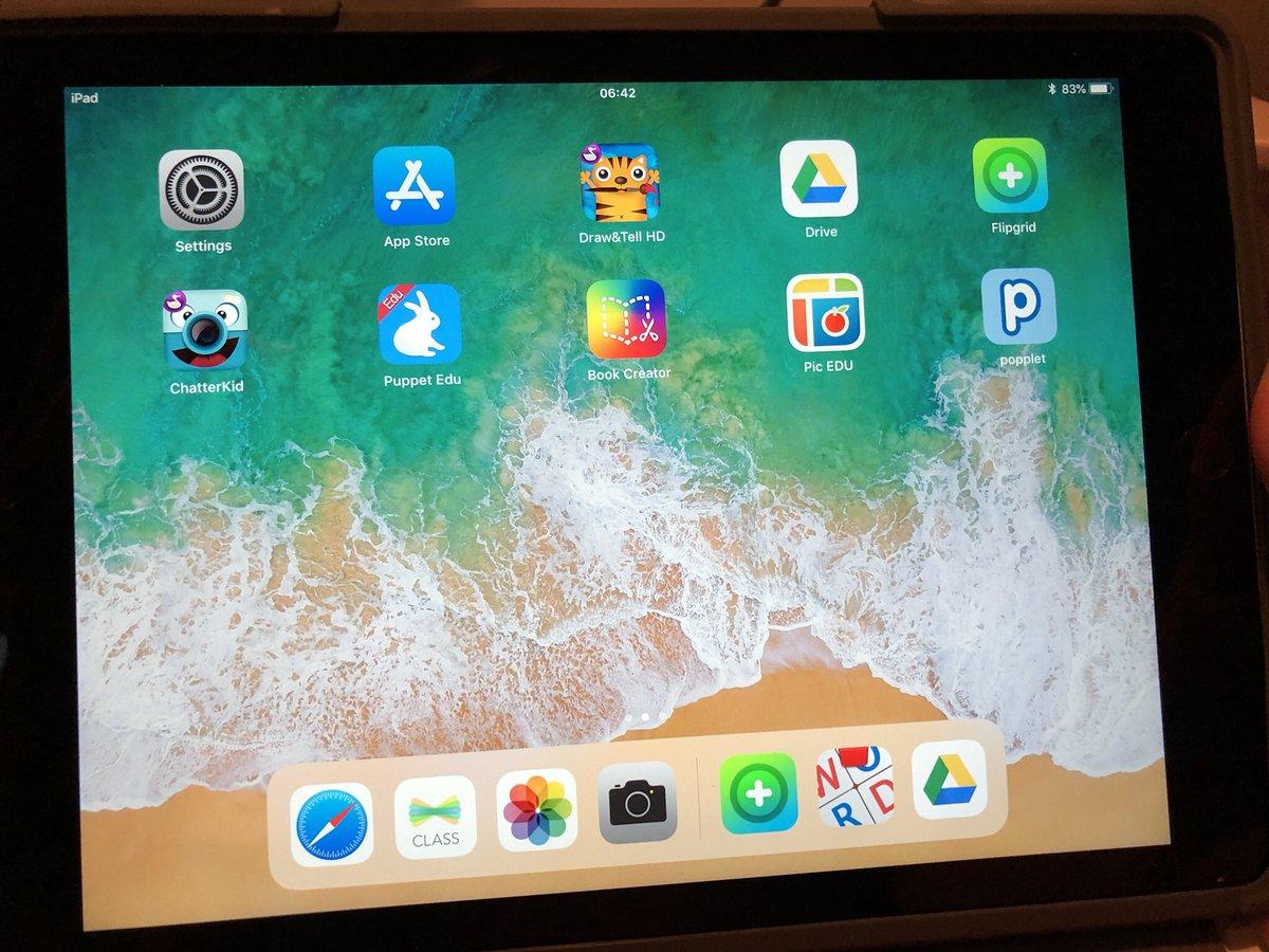 test Twitter Media - @SteingrimurSi Þetta er skjámynd af iPad í 1.bekk @arskoli. #menntaspjall https://t.co/OW95BaCXU5