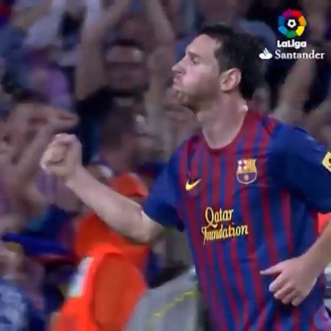 RT @LaLiga: Messi solo hay uno. ????  #LaLigaHistory #TalDíaComoHoy https://t.co/xhIwxrqz1Y