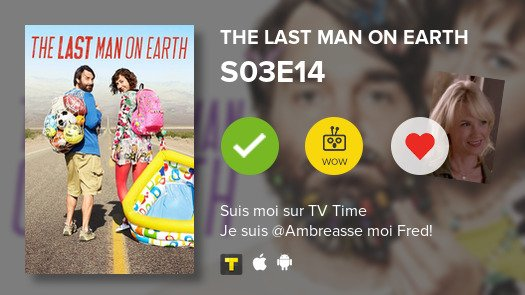 I've just watched episode S03E14 of The Last Man on ...! #lastmanonearth  #tvtime https://t.co/DuCrNJaiha https://t.co/NiJkEquaOl
