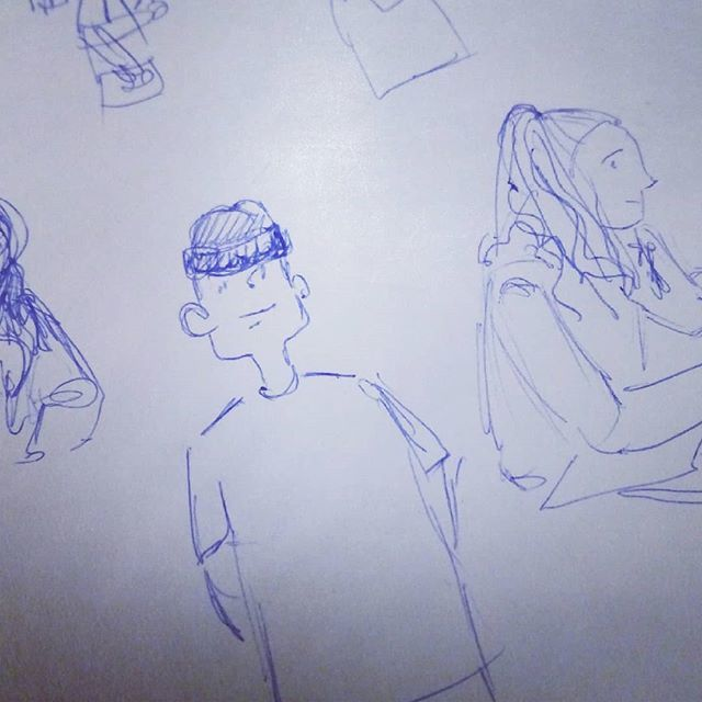 Sketches  #boligrafo #dibujos #bocetos https://t.co/zeWfekwUBm