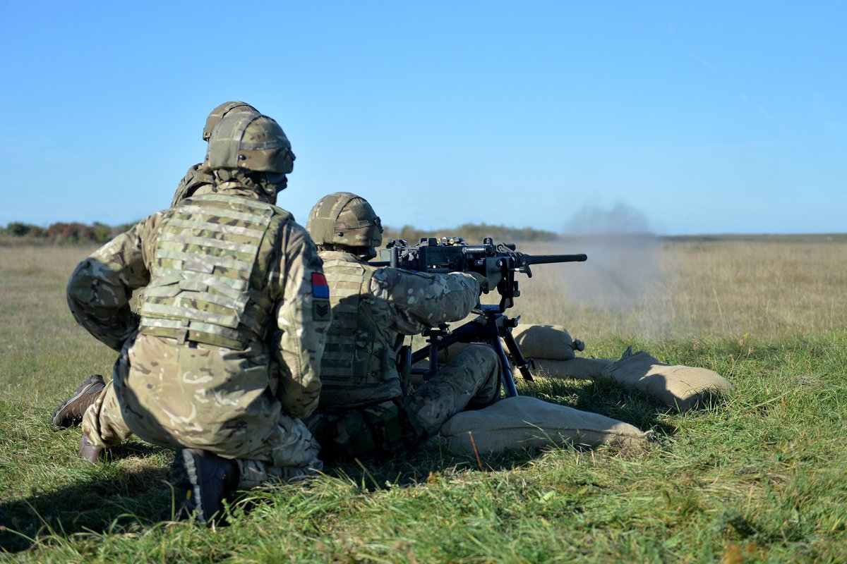 The Skills Of 7th Parachute Regiment Royal Horse Artillery 7 Para Rha Are Being Put To