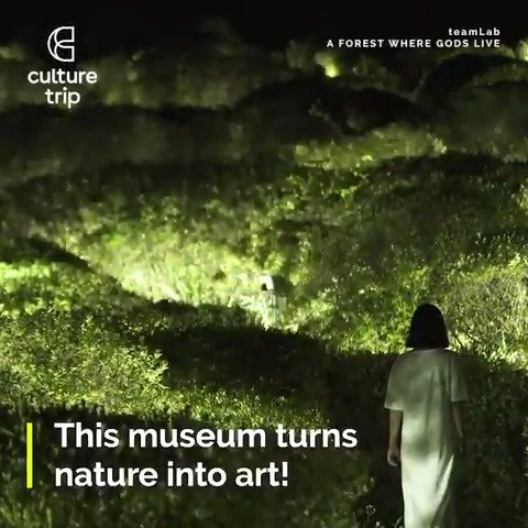 This immersive exhibition is mesmerising 💫 https://t.co/r4ggEcxLLL