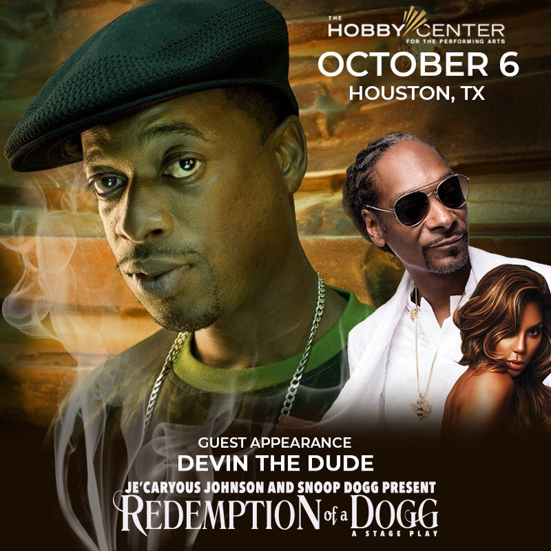 special guest @devindude420 tonite at Redemption of a Dogg ! still got some tix https://t.co/cVRnttXxnc #ROADlive https://t.co/VvJ7yyzezF