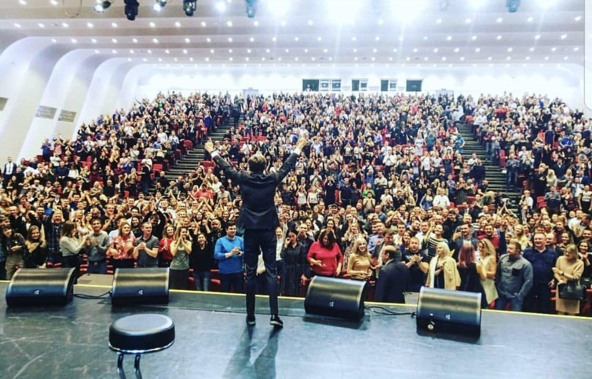 Прекрасный Красноярск, спасибо. Смеялись вы громко!!! Здоровый, бодрый, довольный лечу дальше. https://t.co/gOuRWdJNsa