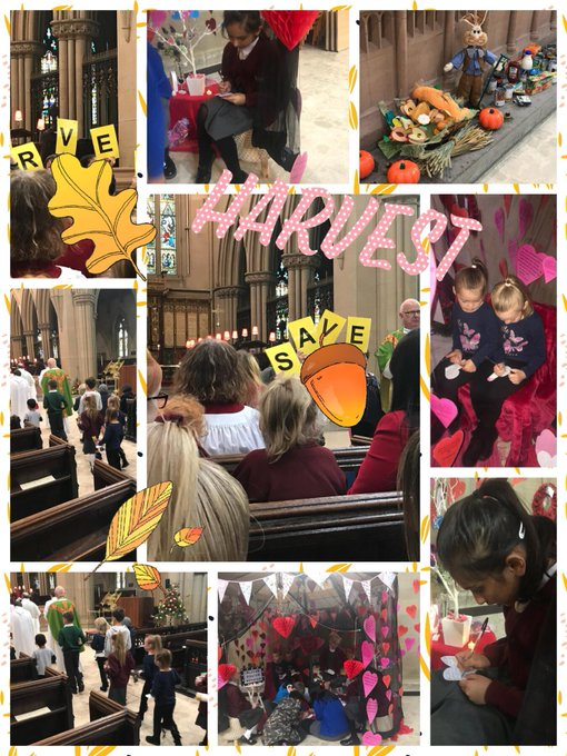 RT @Mrs_Pilling: Wonderful Harvest Service at Bolton Parish Church this morning. https://t.co/Yxv6edGVw1
