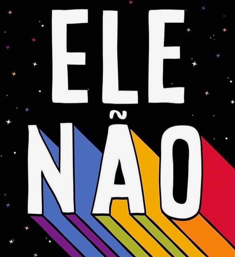 I love you Brazil.  ELE NÃO! ❤️???????? https://t.co/09fh3Qz8vo