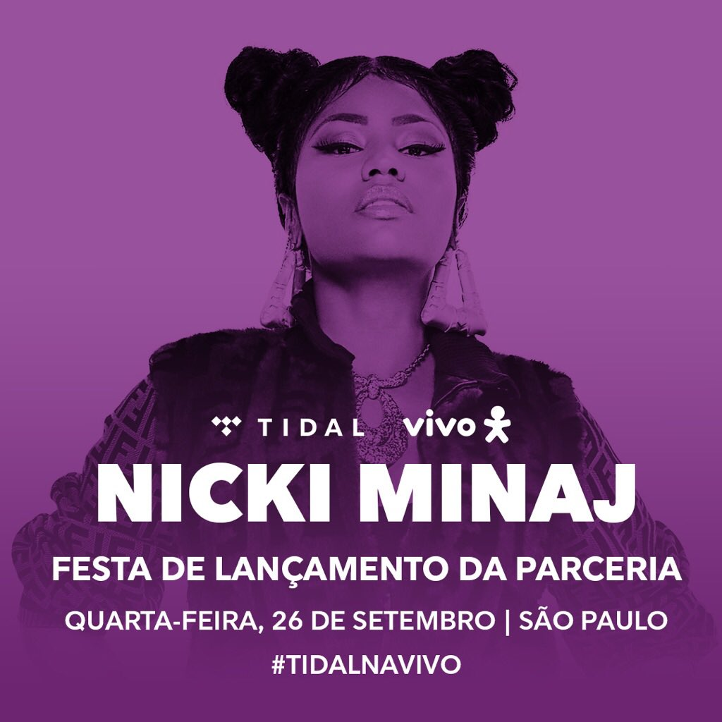 São Paulo!!! Can't wait to see you later with @tidal_brasil and @vivobr! https://t.co/jhoP9vBlTX