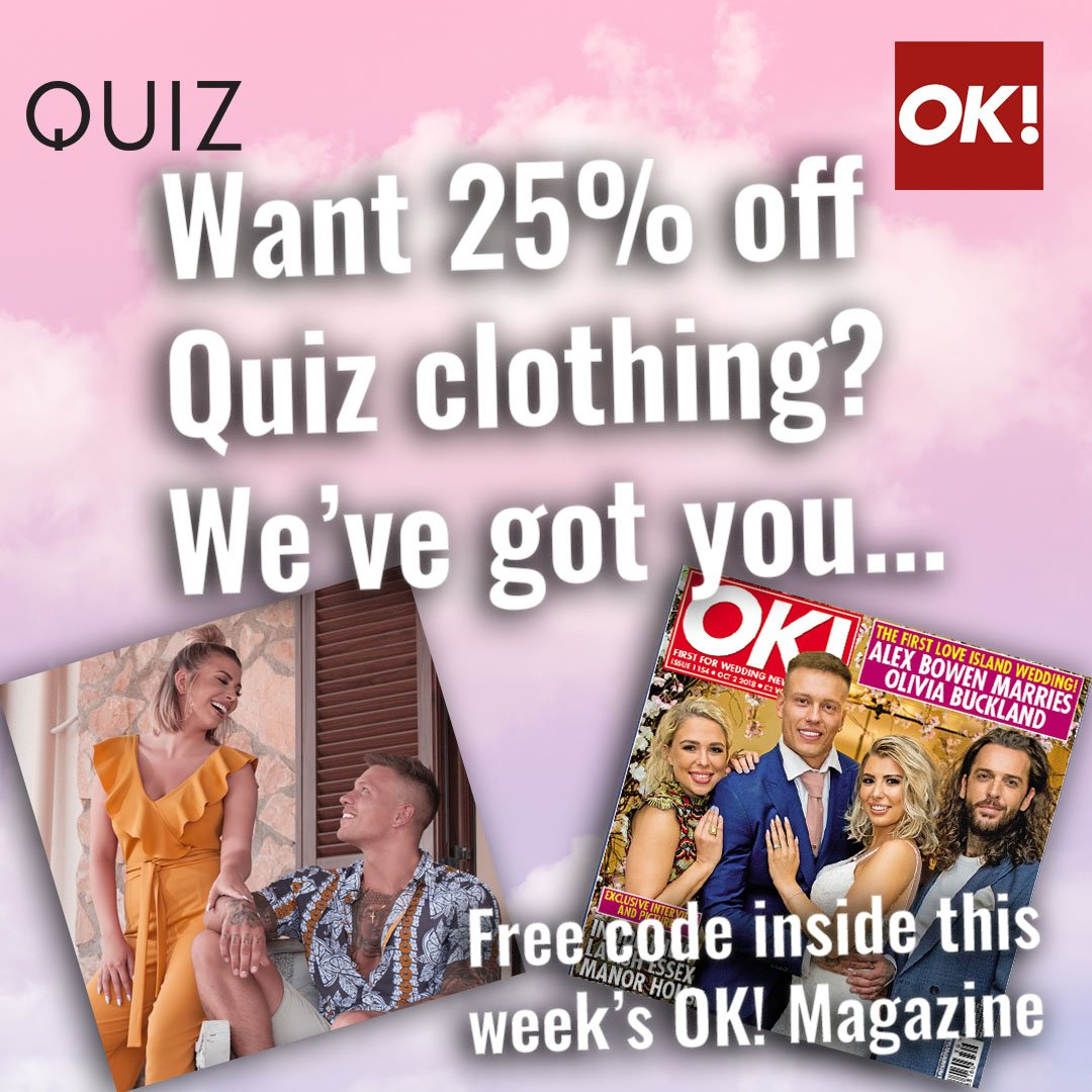 Grab yourself a copy of this week's OK! Magazine