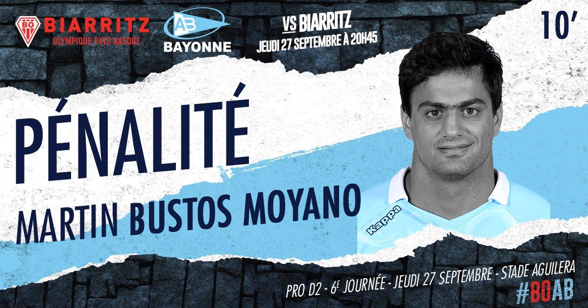 10' EGALISATION ! M. Bustos Moyano, réaliste, permet à ses coéquipiers de revenir au score 3-3 #BOAB https://t.co/Di2obmvVRJ
