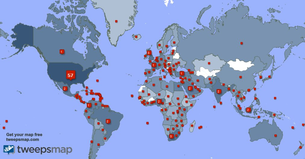 I have 554 new followers from USA, Saudi Arabia, Canada, and more last week. See VQo1BaifwJ