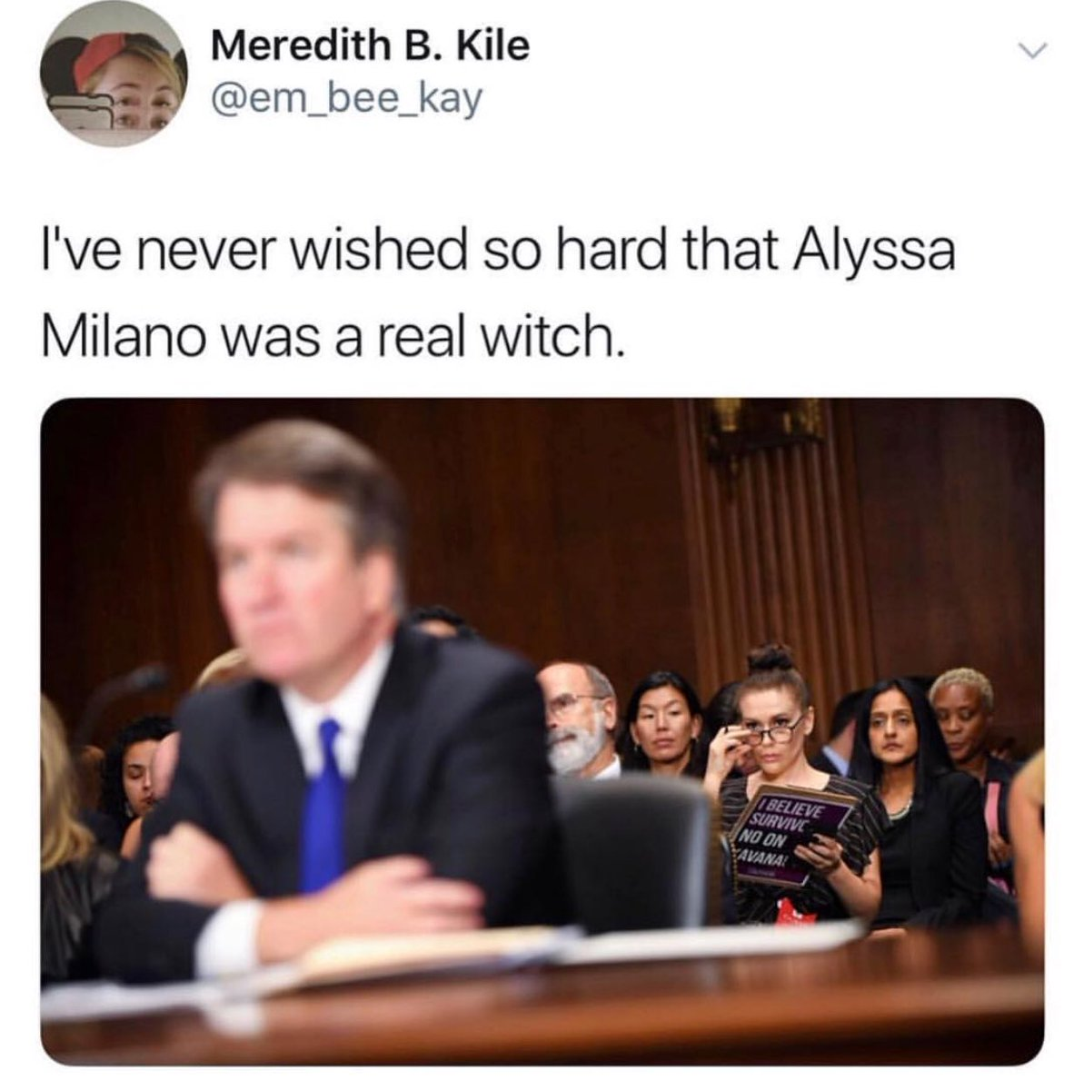 This tweet is amazing. #KavanaughConfirmationHearings https://t.co/JuGxgPKILa