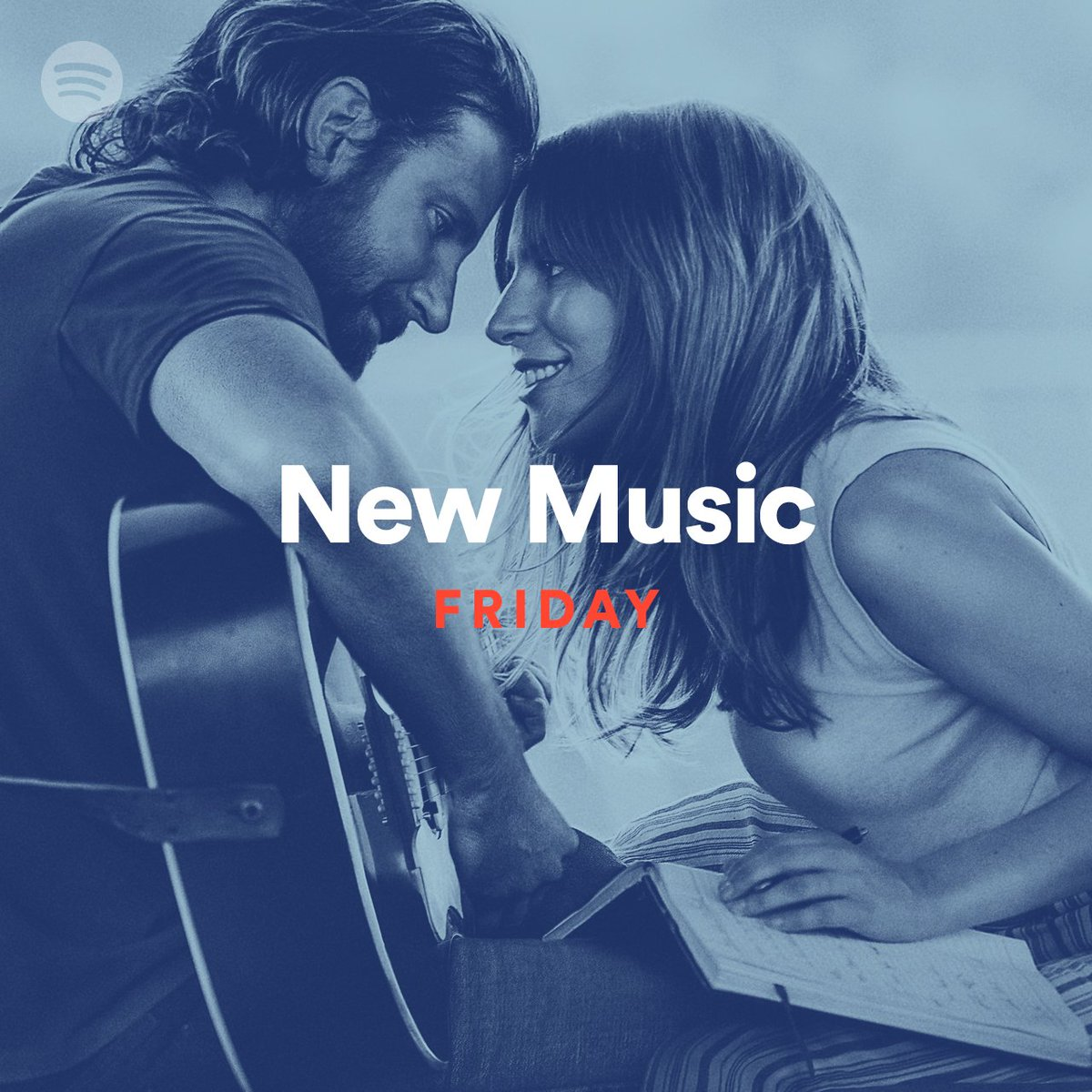 RT @SpotifyUK: .@LadyGaga and Bradley Cooper star in this week's #NewMusicFriday: https://t.co/slrbZx9h9a https://t.co/Ki4EaVID7X