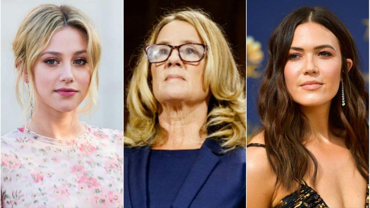 Mandy Moore, Lili Reinhart, More Celebs Praise Christine Blasey Ford After Senate Hearing