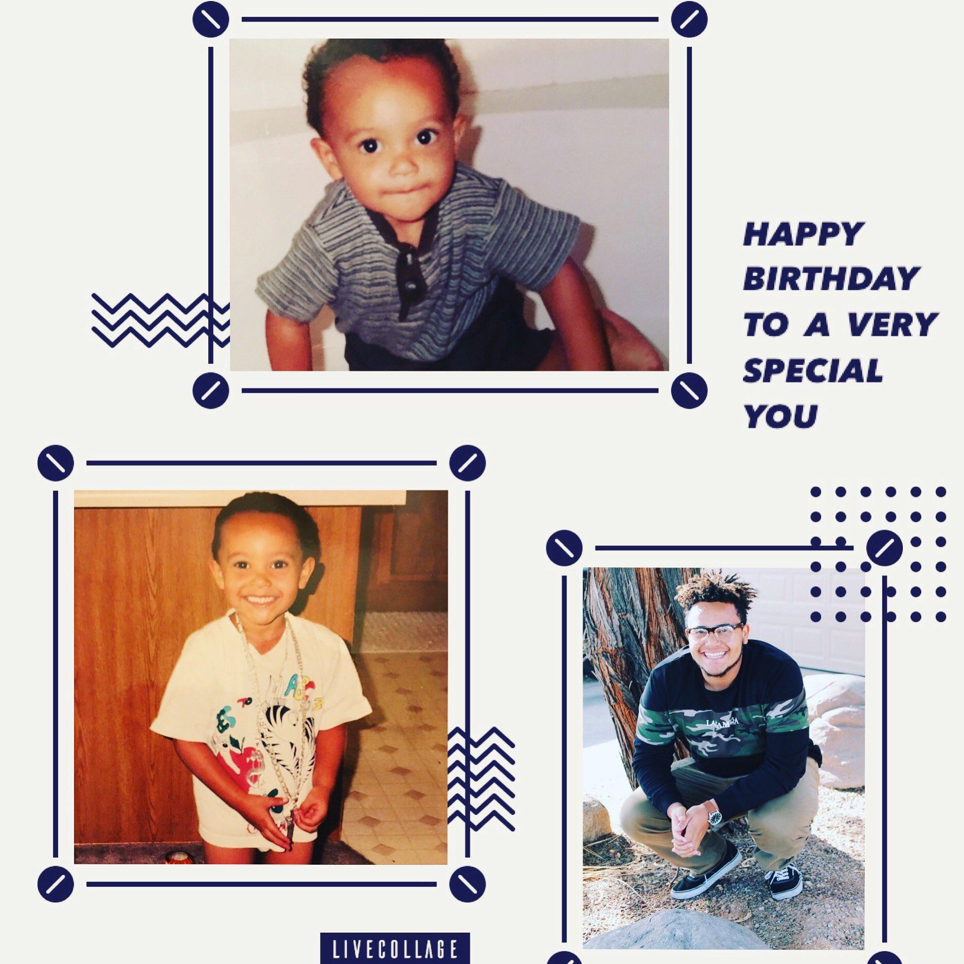 Big boy is 19 today..help me wish him happy birthday...   ..