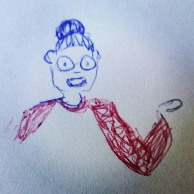 Sketch  #character #pen #boceto #boligrafo  #boli https://t.co/owp7ae44FK