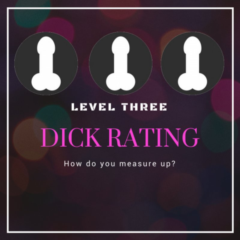 How cool! Just sold Dick Rating: Level Three! You can get yours here Z0Vanw1Sxe #MVSales