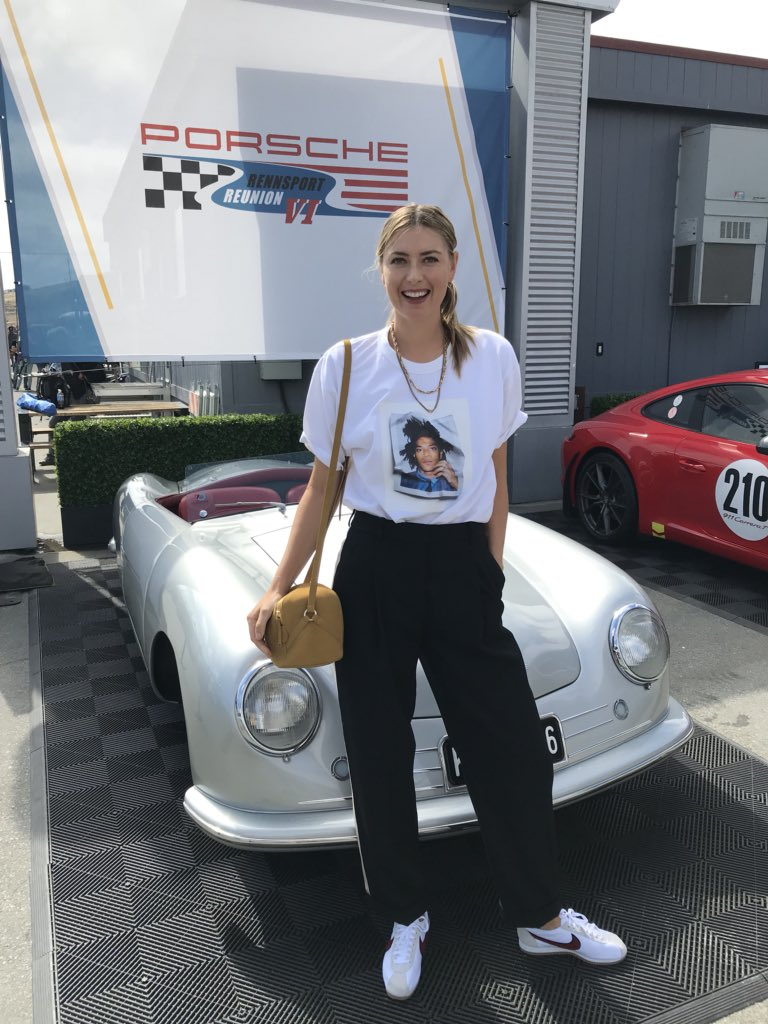 Hey Monterey ????????‍♀️ A little pit stop at @Porsche's Rennsport Reunion. ???? ???? https://t.co/QRoQi8w7qo