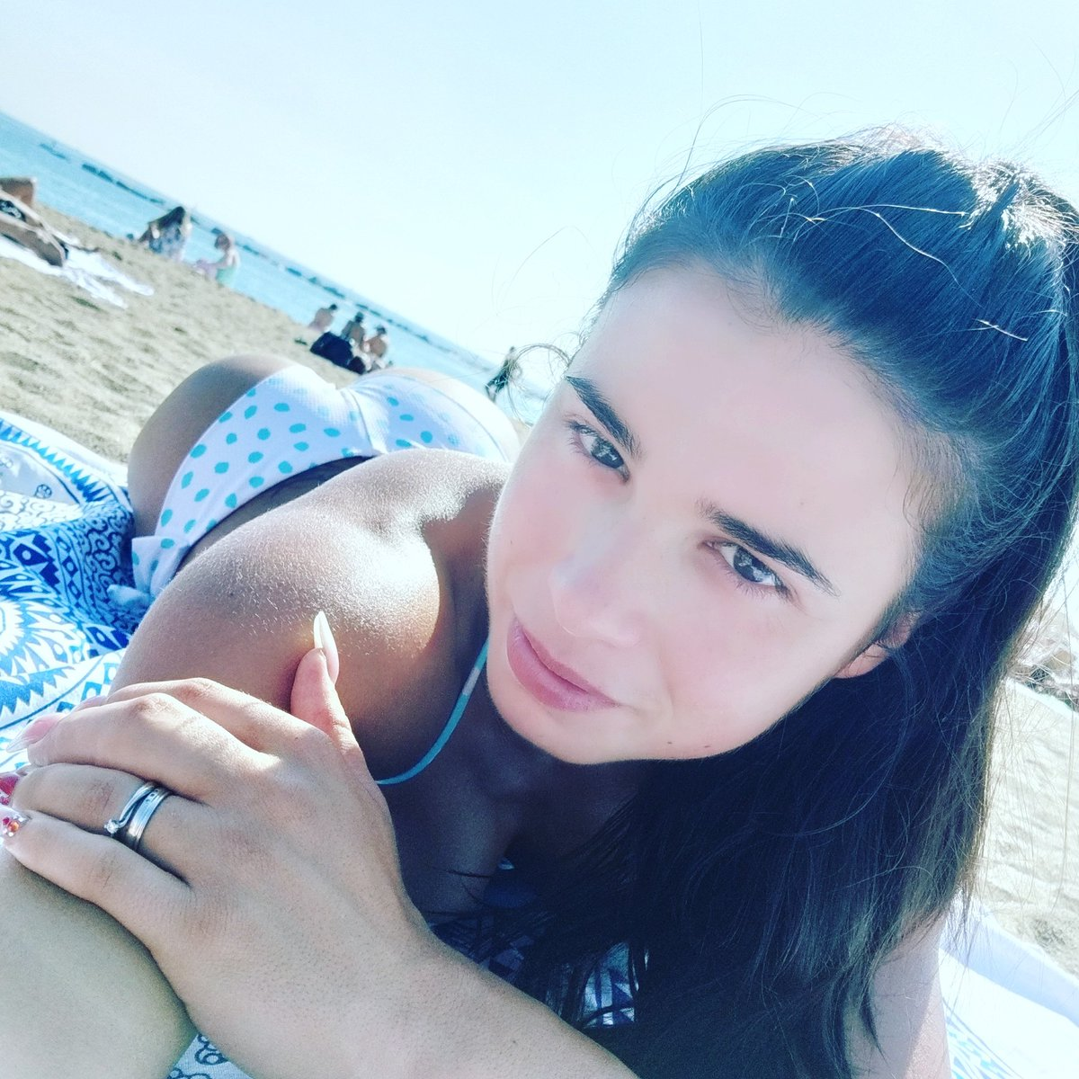 Beach #beach #Barcelona #relax #happy #girl #booty 7LpNvOLnLj
