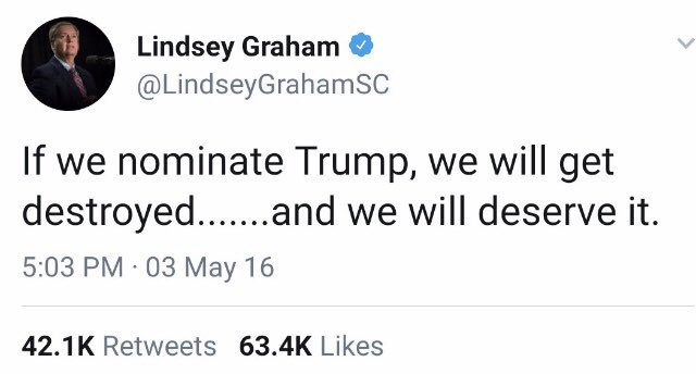 RT @nifty_raccoon: @LindseyGrahamSC What does Trump have on you? https://t.co/Pjnf5VT31a