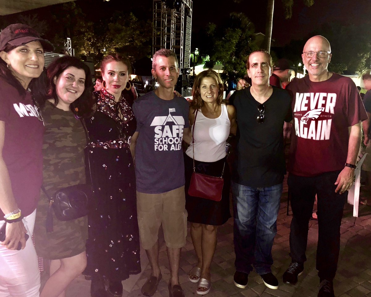 RT @Weinsteinlaw: Inspiring night at the @Actions4Change Festival in Parkland with some of the best people I know. https://t.co/QV5dmtGkM3