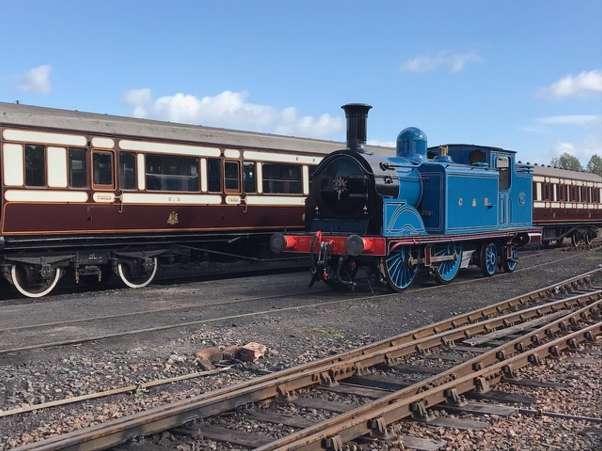 test Twitter Media - CR No. 419 is ready for her initial steam test this week, in preparation for our #AutumnSteamGala @bonessrailway. For the first time in preservation, 419 will meet CR No. 828 visiting from @StrathspeyRail. Gala takes places 2 - 4 November 2018. https://t.co/nNxPDQfNkh ^JS https://t.co/iVmEQ971XL
