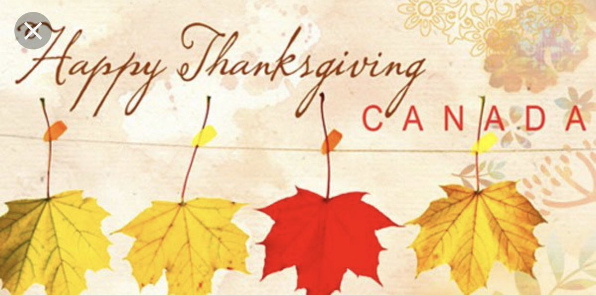 To my favorite northern neighbors: #HappyThanksgivingCanada Have a wonderful and blessed day! https://t.co/aduY7U81Rt