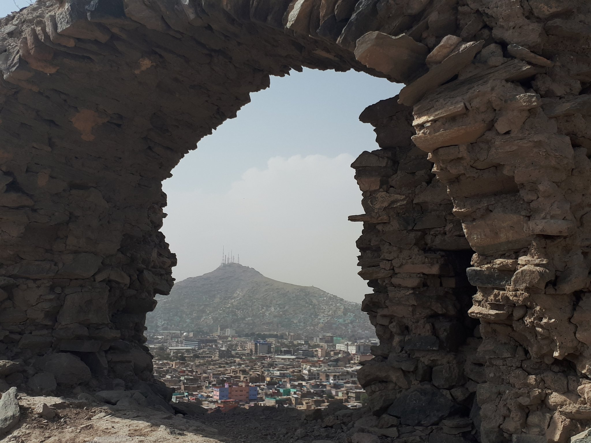 More views of #Afghanistan's fabulous Bala Hissar in #Kabul. The fortress dates from the fifth century AD. I'm showing photos of mine from a recent visit all this week. Check out #BalaHissarKabul for the full collection as it grows. https://t.co/7n07XNg8Jl
