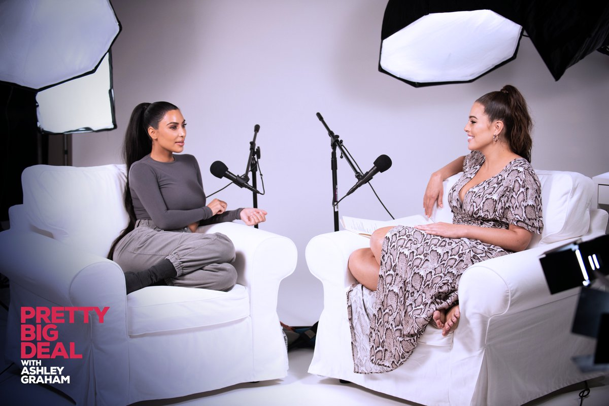 .@prettybigpod episode 1 with @KimKardashian is live on @ApplePodcasts!   Subscribe & ????here: https://t.co/GY90Ii62Yf https://t.co/ikUPEvU3LV