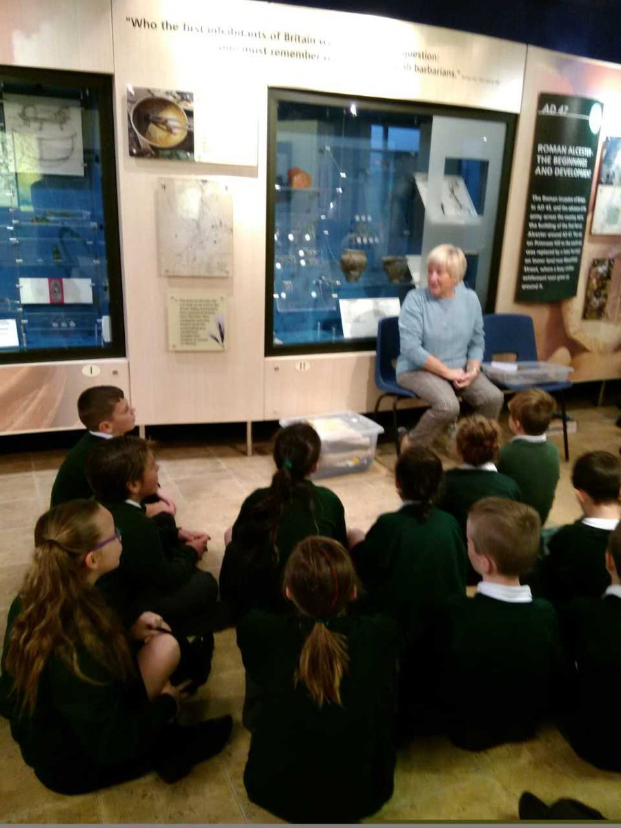 test Twitter Media - 4K had a fantastic day at the Roman Museum. We learnt lots and had lots of compliments about the children's excellent behaviour. Well done 4K. https://t.co/WuMx5vUtV1