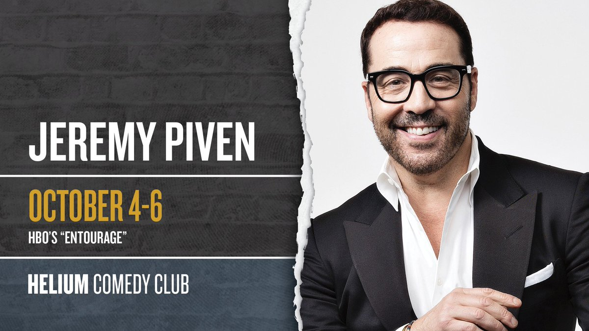 RT @HeliumComedySTL: .@JeremyPiven tickets are going fast! Grab yours here: https://t.co/T01tEGyiOW https://t.co/0PwutH3niZ