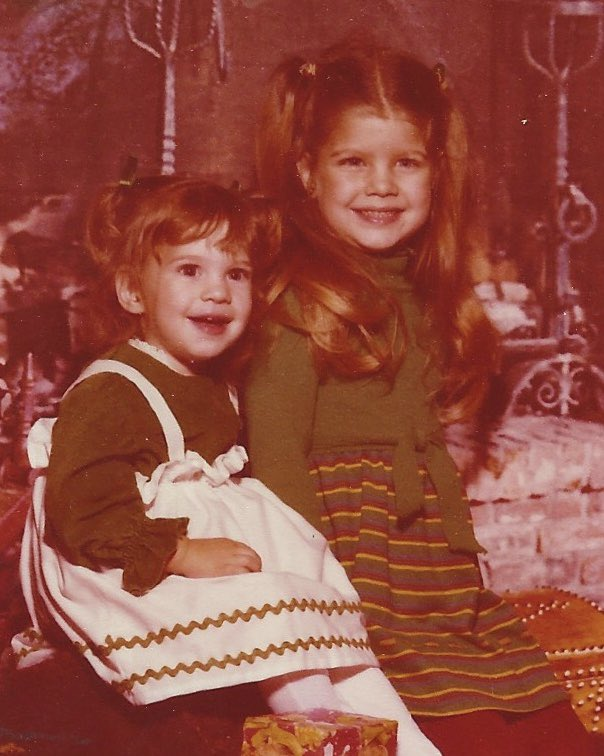 happy early bday 2 my lil sis @danamferg #Danas40FreshAndFabulous ❣️❣️#waybackwednesday https://t.co/yIj8yW0kTK