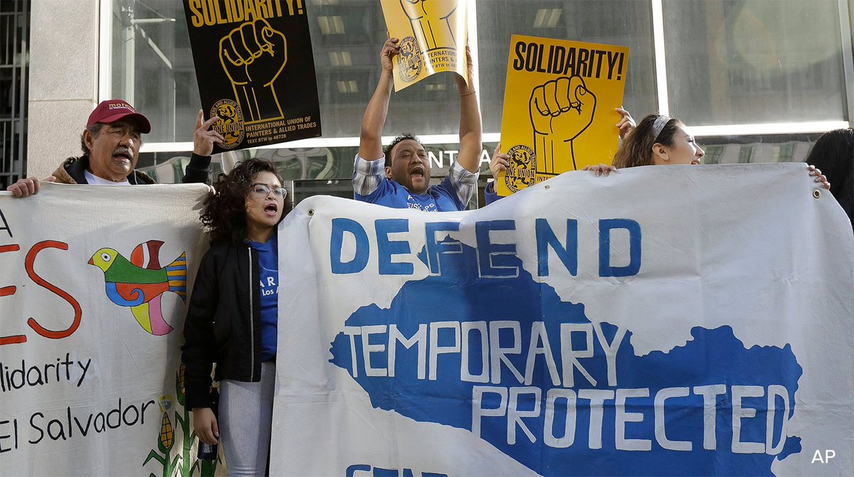Judge blocks Trump admin from ending TPS for 300,000 immigrants