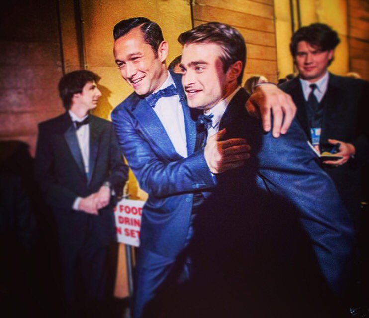 Backstage with Mr. Radcliffe at the Oscars a few years ago.. #tbt  https://t.co/cJc9BFuiUf https://t.co/BZa13q5lMZ