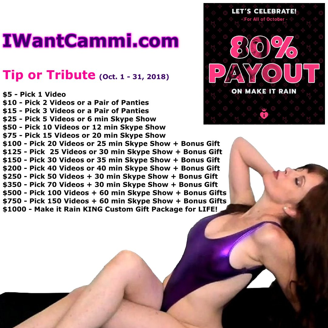 Want this Video? Go to KFrdNCQa1d and send me a Tribute of $5. This offer Ends on 10/31/2018
