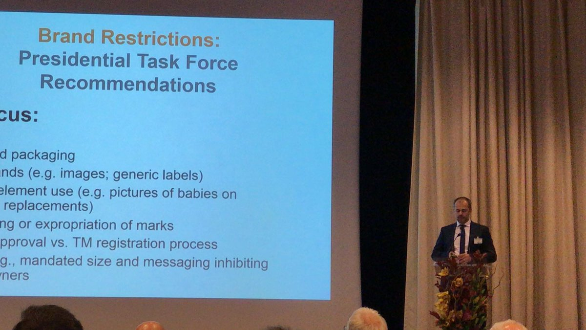 test Twitter Media - #PTMG Annual Conference 2018 #Dubrovnik  David Lossignol  Global Head of Trademarks at #Sandoz International GmbH #Brand Restrictions  Presidential Task Force  Recommendations https://t.co/rf0Ca58ay2