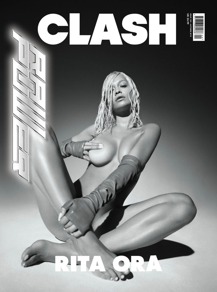 My @ClashMagazine cover is here!! The Rise of the Phoenix ☄️  https://t.co/p54Qt7WFMV  #CLASH109 #CLASHxRITAORA https://t.co/f0QdhukGrW