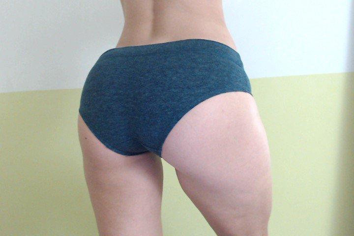 2 pic. Panty 12- Full cotton blue 5pNKh5WEZE