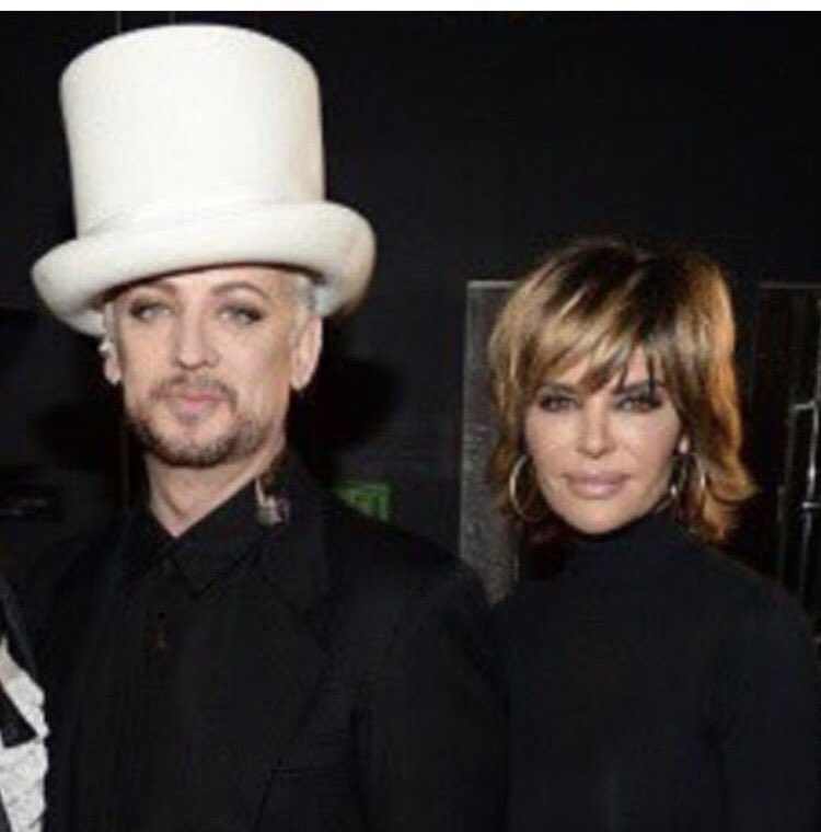#Tbt George and Me @BoyGeorge Thank you for an AMAZING evening last night!!! You killed it George! ♥️ #cultureclub https://t.co/iJDabbU1Hd