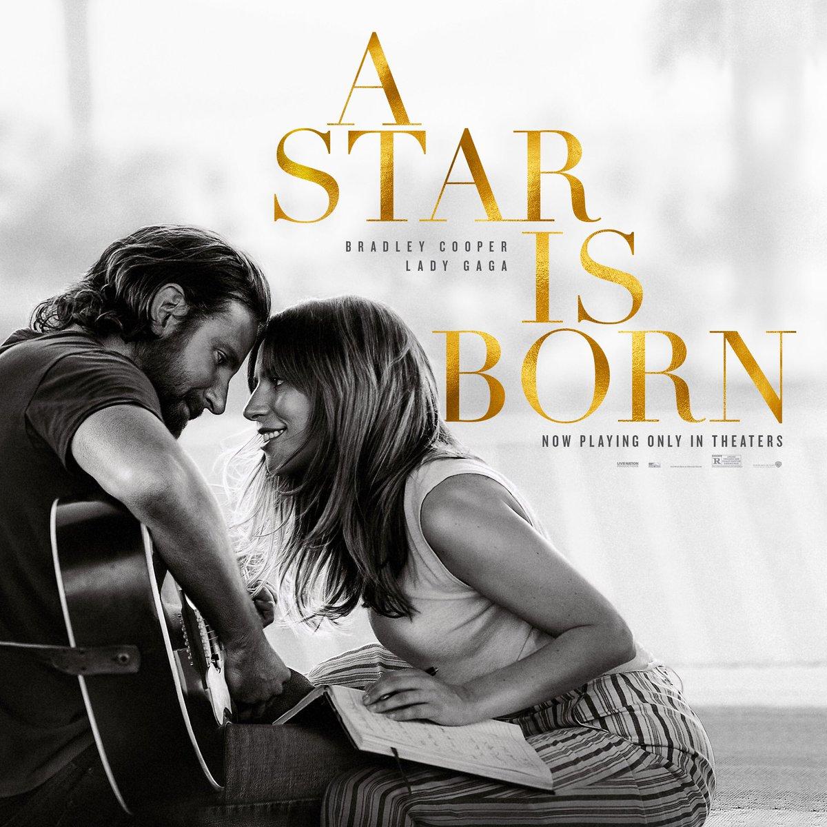 #AStarIsBorn is out now Tickets ???? https://t.co/Ex5PeCae9W Soundtrack ???? https://t.co/rRbaji0jbW https://t.co/fFz66GZ0oy